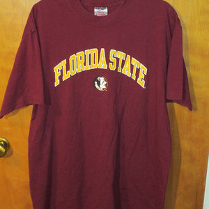 Florida State Seminoles Spell Out Burgundy Shirt